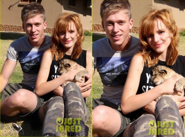 2/06/3. Bella et Tristan en safari.