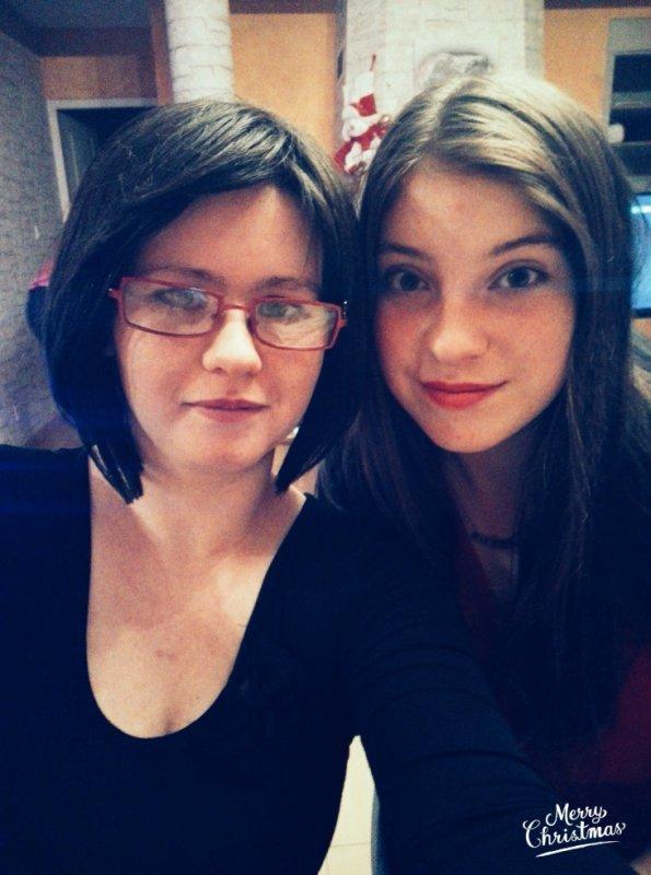 Avec la plus belle Ma cousine
