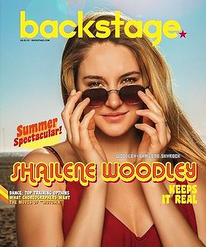 s Shailene - magazine Backstage : s