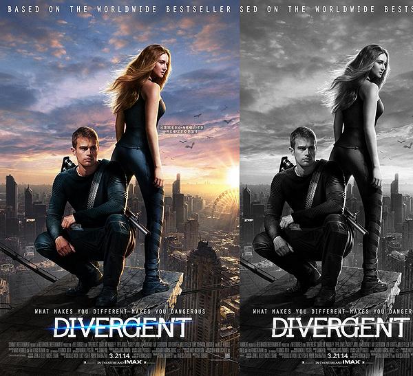 s ☰ Film ☰ posters de Divergent + trailer HD Divergent : s