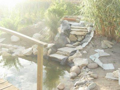 construction de la cascade