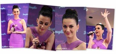 """11 Mars 2011 : Katy était à la conférence de presse pour """" Purr """" en Allemagne. TOP ou FLOP?"""