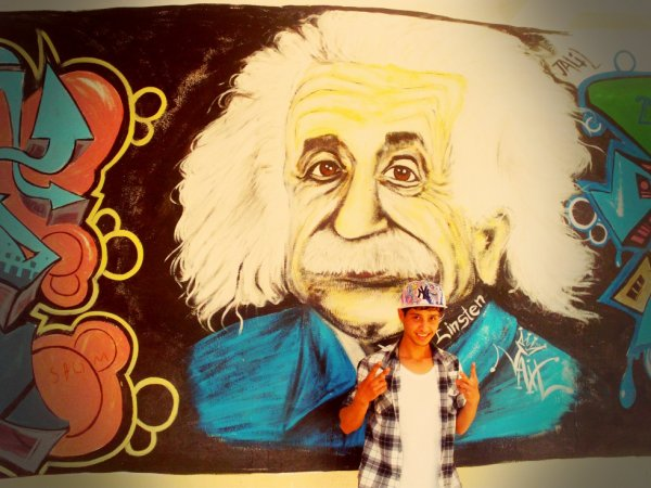 mًoi ..& my last work ☼.☼ graffiti ..