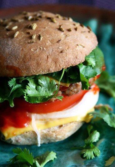 Rien de meilleur qu'un hamburger maison
