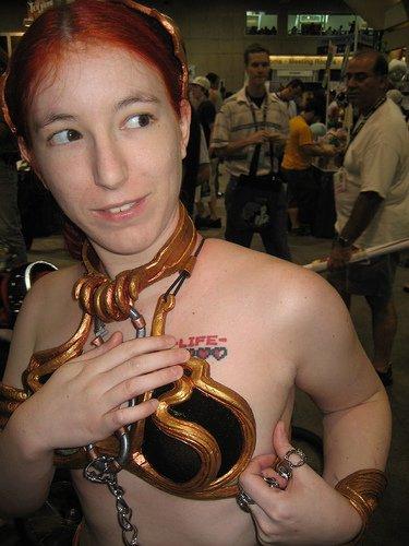 Geek : Tatouage Coquin