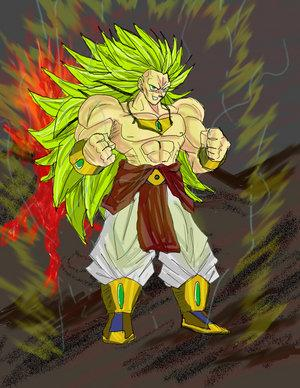 Broly ss3 dragonball z gt et surtout after futur - Sayen legendaire ...
