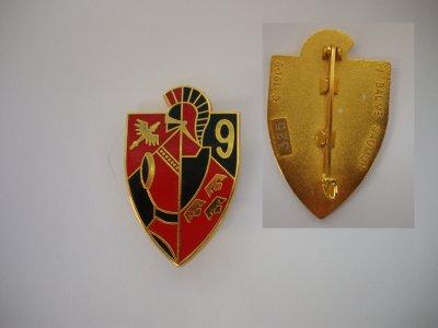 """PUCELLE : """"9ème régiment du Génie """" (Neuf -Brisach) model 7"""