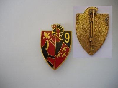 """PUCELLE : """"9ème régiment du Génie """" (Neuf -Brisach) model 8"""