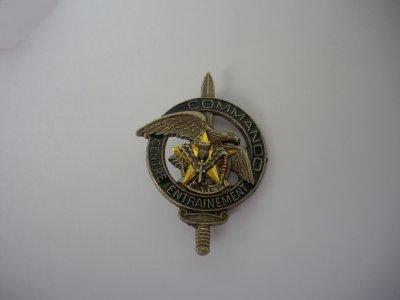 Insigne commando CEC n° 8  avec insigne régimentaire du 26ème Régiment d'infanterie