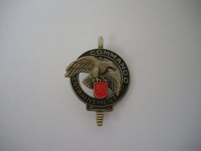 BREVETS : insigne CEC n°30 Bonifacio 30e RI