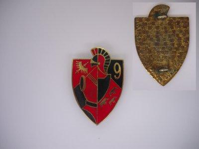 """PUCELLE : """"9ème régiment du Génie """" (Neuf -Brisach) model 9"""