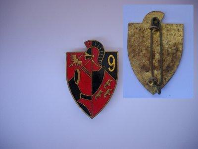 """PUCELLE : """"9ème régiment du Génie """" (Neuf -Brisach) model 10"""