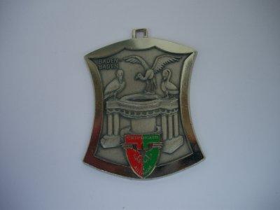 Plaque ou insigne des Forces Françaises en Allemagne à Baden-Baden (FFA)