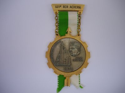 Médaille du 601 rcr achern 1978