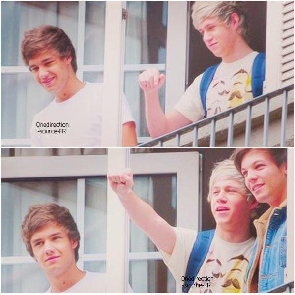 Liam, Louis et Niall - Mexico, 06.06.2012