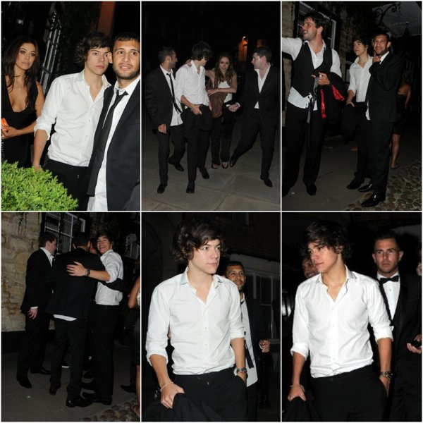 "Harry et Niall au Mariage de Marvin des ""JLS"" & de Rochelle des ""The Saturdays"" 28.07.2012"