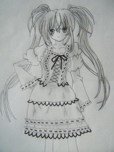 Deuxième dessin d'Utau! ^^