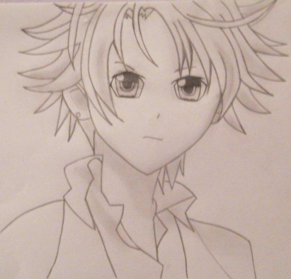 Deuxième dessin de Kukai !