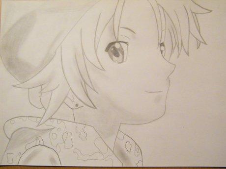 Troisième dessin de Kukai ! ^OOO^