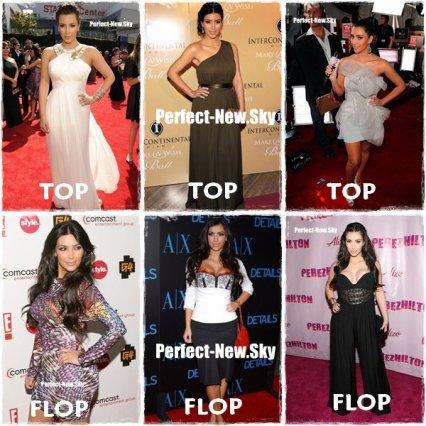 Top Ou Flop Kim Kardashian