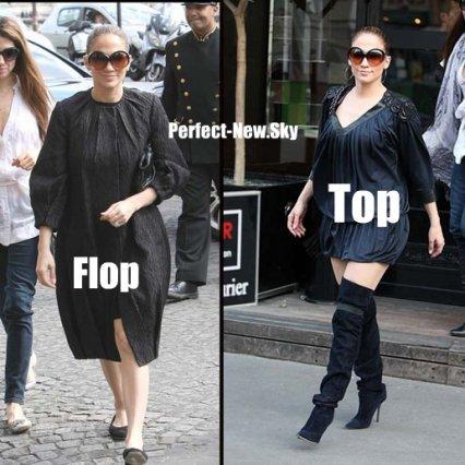 Les Top / Flop de Beyonce et Jennifer Lopez