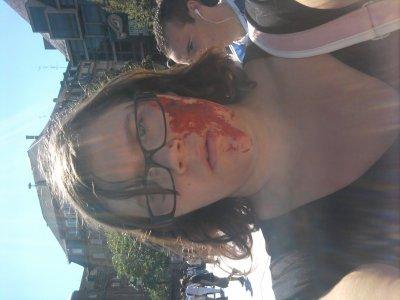moi en zombie