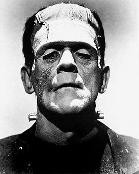 x)  Le Monstre De Frankenstein   x)