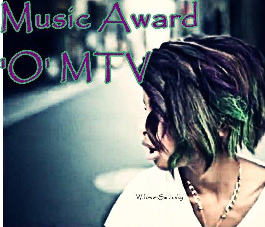 Willow a été nominé pour les Music Award 'O' MTV