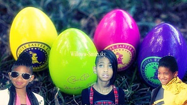 """""""Get Up and Go!"""" ( Lève toi et vas-y) est le thème de cette année White House Easter Egg Roll le 25 avril, et la liste des stars participent à l'événement du printemps a été publié WILLOW EN FAIT PARTI :D. Dans l'esprit de Michelle Obama et Jill Biden """"Unir nos forces"""" initiative, plus de 4.000 billets ont été distribués aux familles des militaires."""