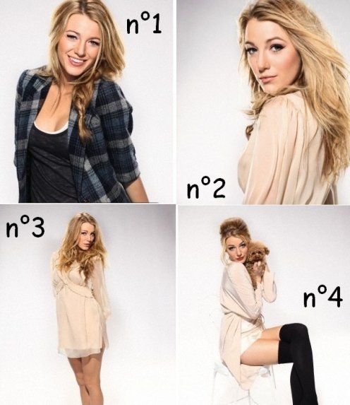 Photoshoot de Blake Lively !