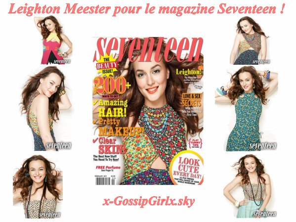 News Leighton Meester !