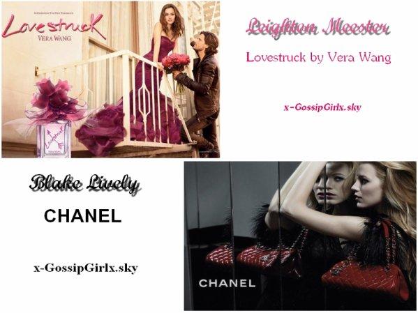 Actrices dans Gossip Girl, oui, mais aussi égéries des plus grandes marques !