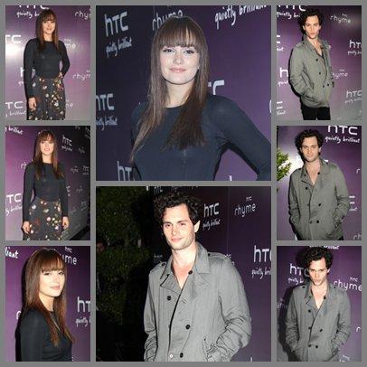 Soirée HTC avec Penn & Leighton.