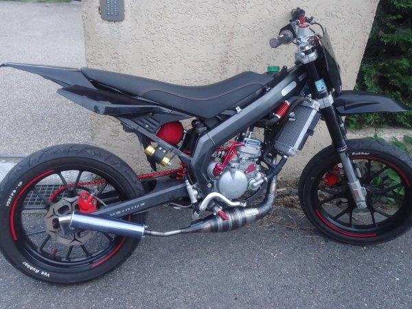 La moto roule !!!!!! :)