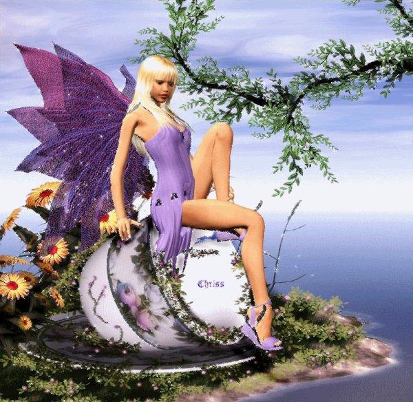 Besoin de s'évader Elfe et Anges