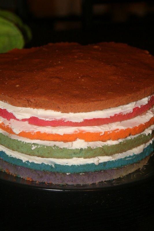 * RainBow Cake *