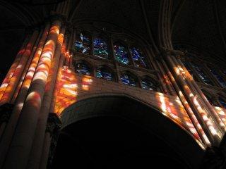 ALLUMINATION (Cathédrale de Cholet - Maine-et-Loire)