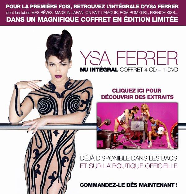 """Ysa Ferrer - Coffret """"Nu Intégral"""""""