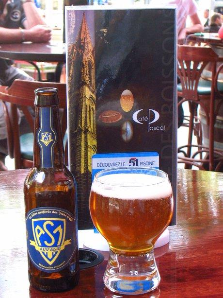 """Bière """"ASM"""" (Clermont-ferrand - Puy-de-Dôme - Auvergne)"""