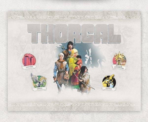 THORGAL - Ne vous contentez pas de suivre les aventures de Thorgal. VIVEZ-LES !