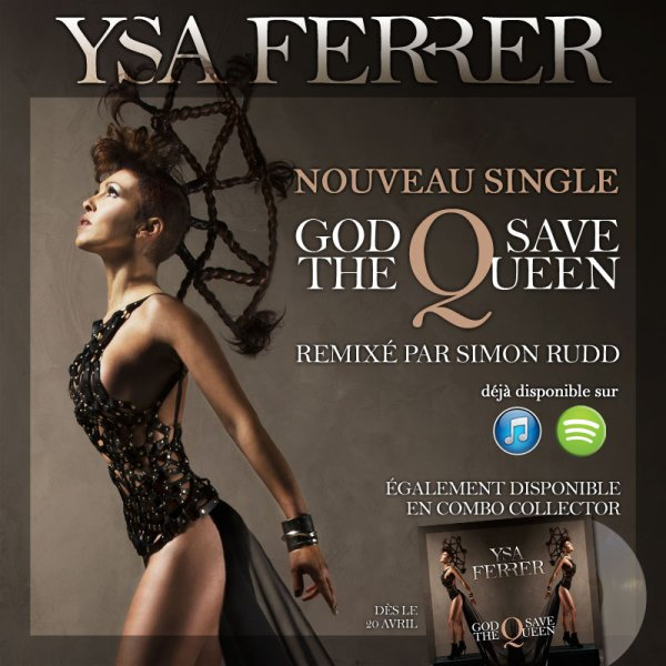 Ysa Ferrer - God Save The Queen (Lyrics Video)