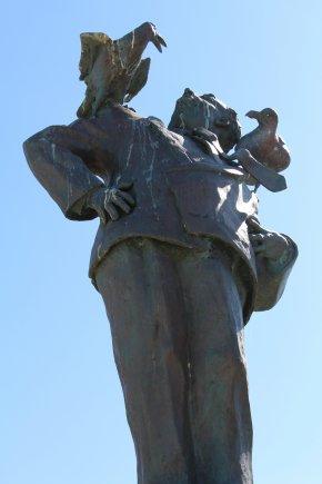 Alfred Hitchcock et ses Oiseaux (Dinard - Bretagne)