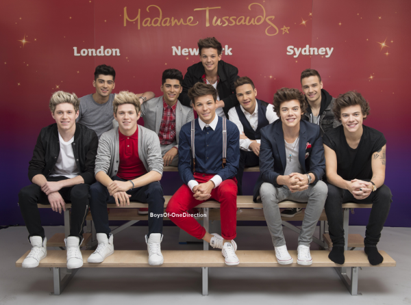 One Direction en cire !