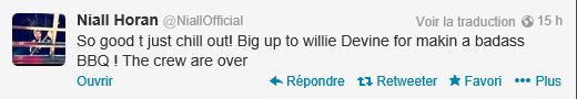 Twitcam de Niall du 12/08/13