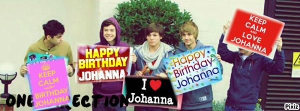 Joyeux Anniversaire Johanna