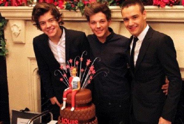 Les 1D et les gâteaux !
