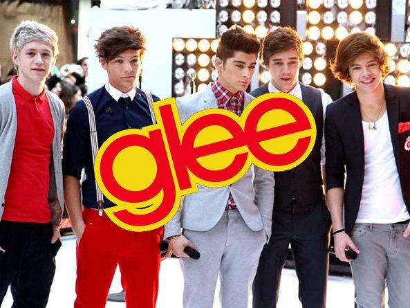 Les 1D dans Glee ?
