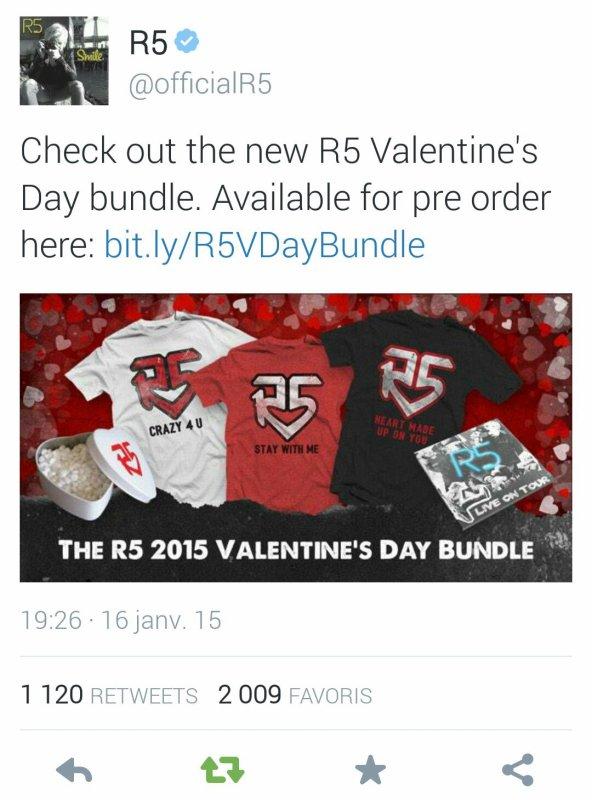 The R5 2015 Valentine's Day Bundle! :D ❤