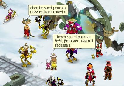 Boufmouths, Sacrieur et XP !