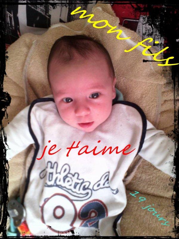 Mon fils , Ma vie <3
